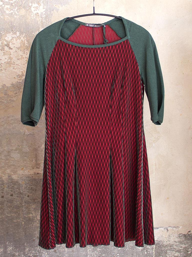 Kleid mint-rot von say-yeah!
