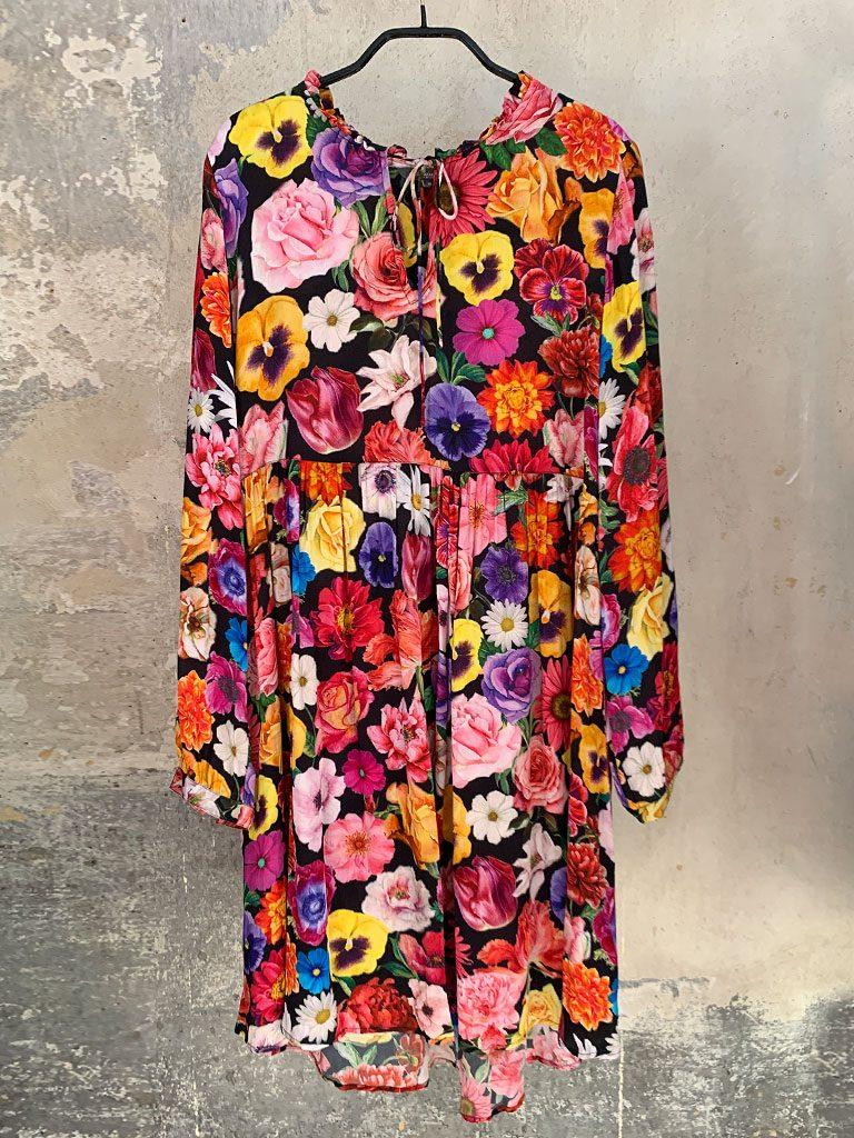 Sommerliches Blumenkleid Princess, Größe 38